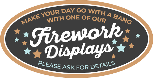 Large Fireworks Badge