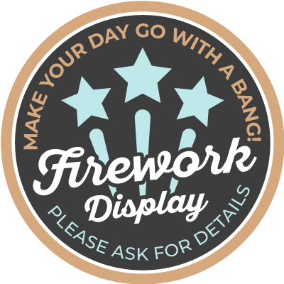 Fireworks Badge